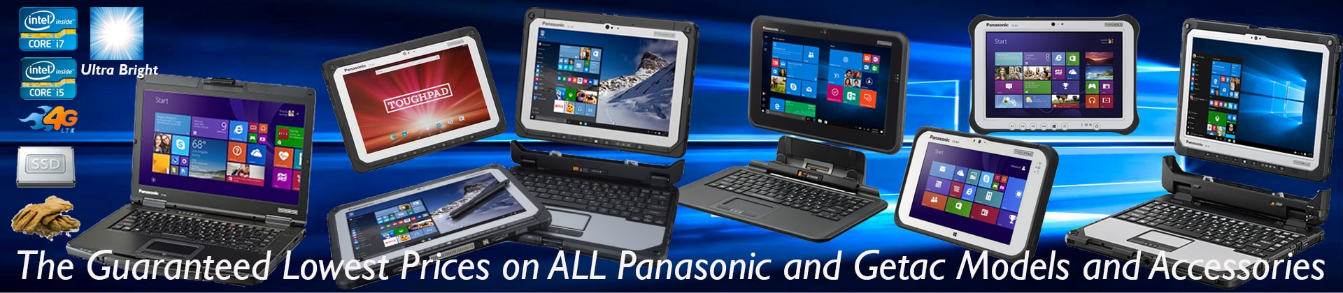 New Getac & Panasonic