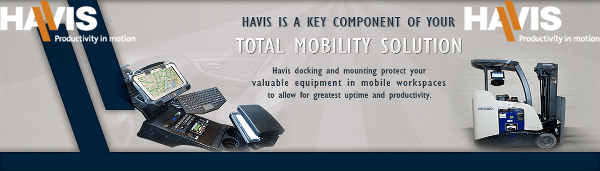 Havis Mounts and Docks